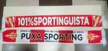 Sporting. Bufanda 101% Sportinguista 2018