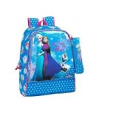 Frozen. Follow Your Heart. Mochila Day Pack + Portatodo