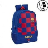 Fc Barcelona. Mochila Escolar Adaptable a Carro