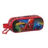 Estuche escolar doble Spiderman Go hero