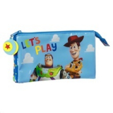 Estuche escolar triple Toy Story Let's play