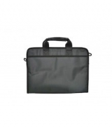 Cartera portadocumentos y portátil negro Smartline Office Box
