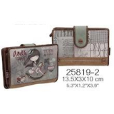 Anekke. Cartera mediana Love and Stories (13'5x3x10)