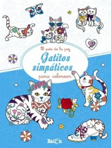 Gatitos Simpaticos para Colorear -Ballon